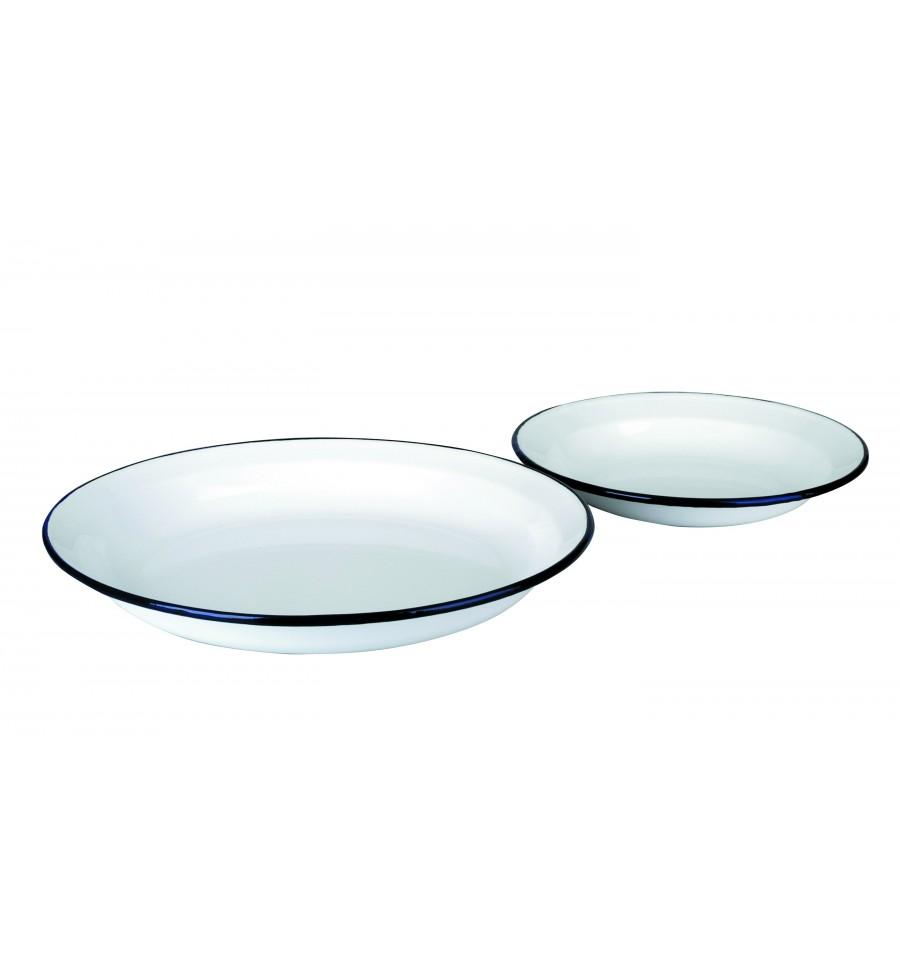 Plato blanco de ibili for Plato blanco