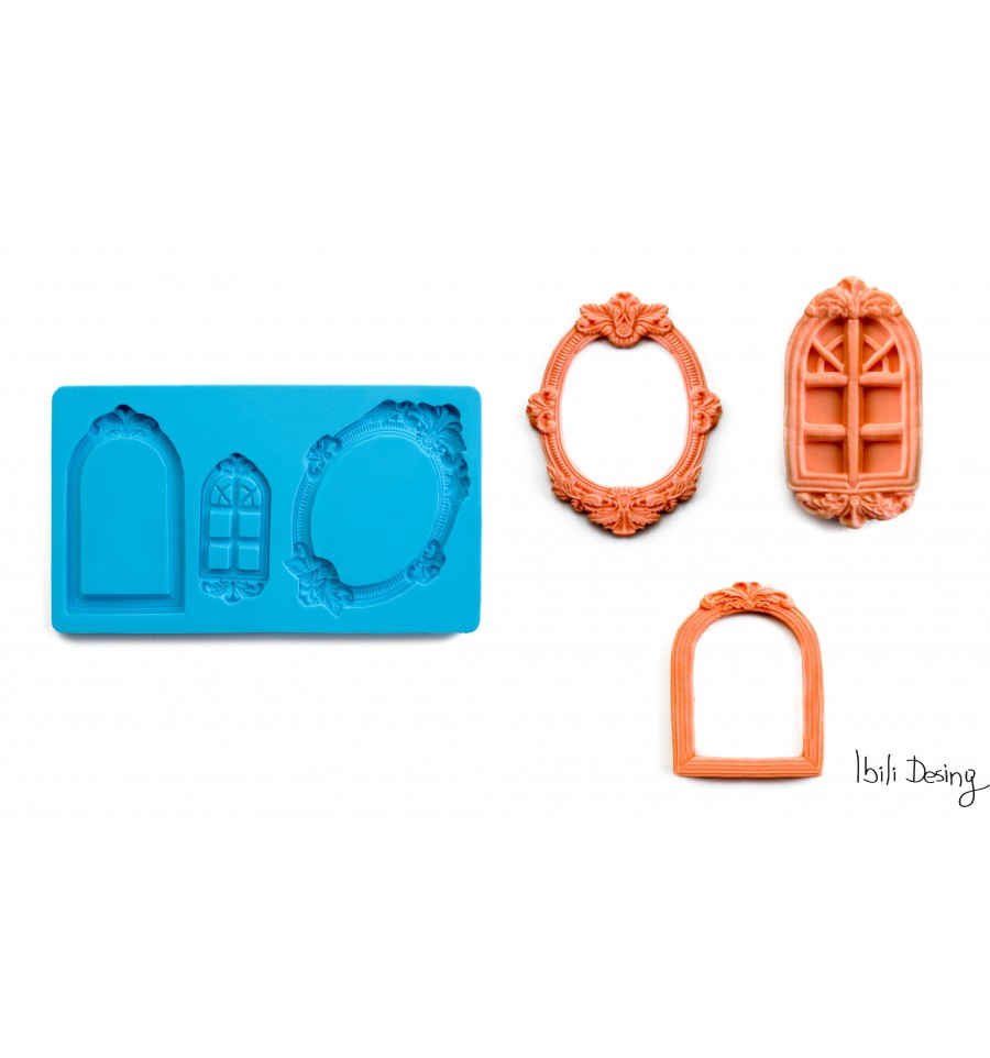 ▷ Molde 3D Marcos de Ibili ®