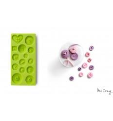 Molde 3D Botones de Ibili