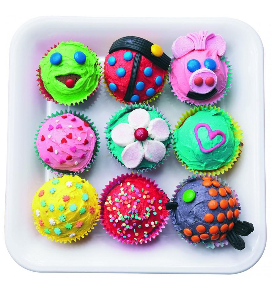 4 moldes cupcake silicona de ibili - Moldes cupcakes silicona ...
