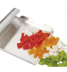 Pala Recoge Verduras Inoxidable 24X15 de Ibili