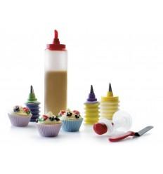 Set De Cupcakes luxe de Ibili
