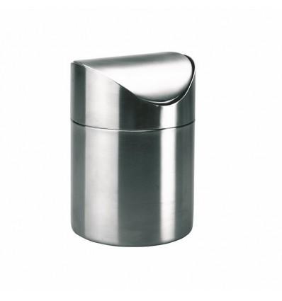 Bote residuos inoxidable 18 10 de ibili for Bote utensilios cocina