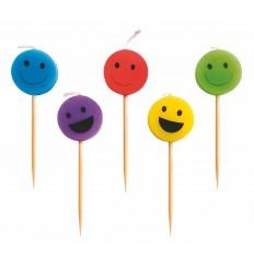 Set 5 Velas Sonrisa de Ibili