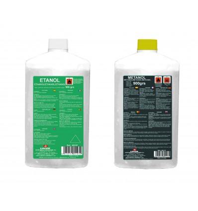 Botella gel etanol de lacor
