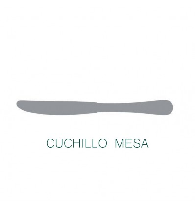 Cuchillo mesa aries de lacor