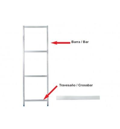 Barra soporte lateral estanter?as modulares de lacor