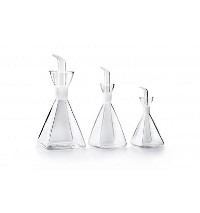 Aceitera piramidal cristal de ibili - Aceiteras de cristal ...