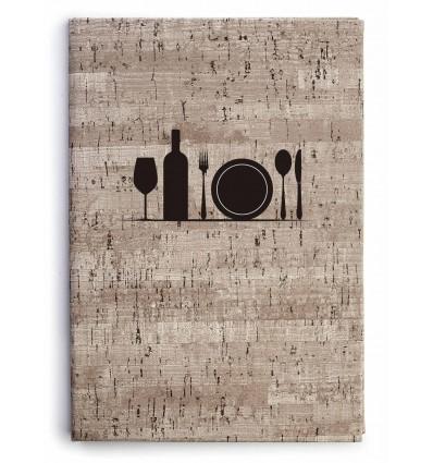 Portamenú Matisse de Lacor