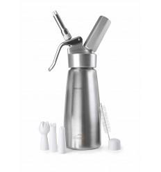 Sif?n crema inox+cabezal aluminio de lacor