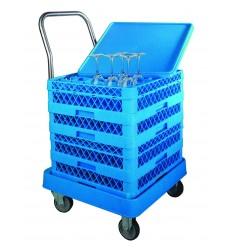 Carro porta - cestas sin asa de lacor