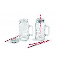Set 2 jarras de cristal de Lacor