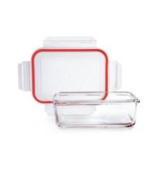 Contenedor de vidrio rectangular de Ibili