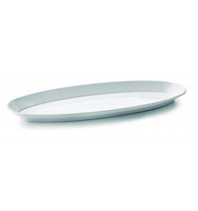 Fuente pescado White melamina serie Classic de Lacor