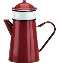 Cafetera Con Filtro Roja de Ibili
