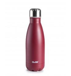 Botella-termo doble pared granada de Ibili