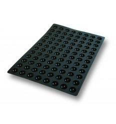 Molde silicona 60x40 cm mini semiesfera 35x17.5 mm de lacor