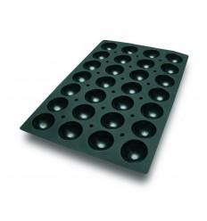Molde silicona 60x40 cm semiesfera 70x35 mm de lacor