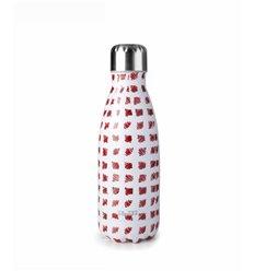 Botella termo doble pared doodle de Ibili