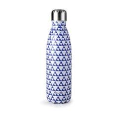 Botella termo mosaic blue de Ibili