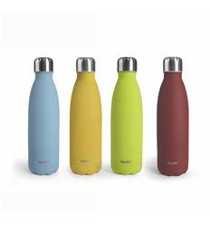 Botella termo doble pared colorful de Ibili