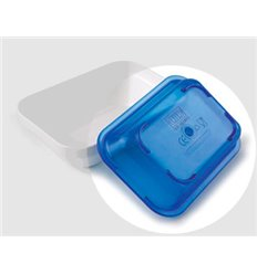 Tapa fuente rectangular policarbonato azul de Lacor