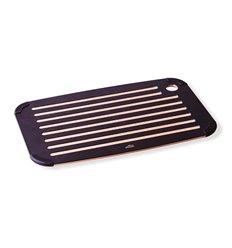 Tabla de corte negra para pan de Lacor