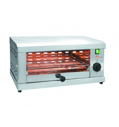 Tostador el?ctrico horizontal parrilla simple 2000w de lacor