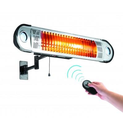Calentador el?ctrico 1500w+control remoto+soporte pared