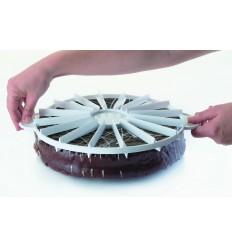 Marcador de tartas de Lacor