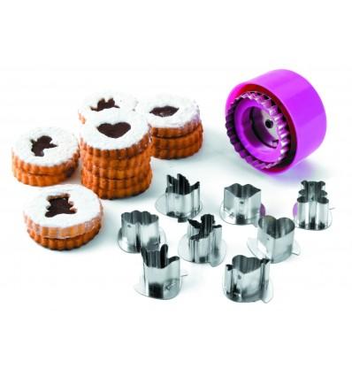 Set 8 cortadores galletas de lacor
