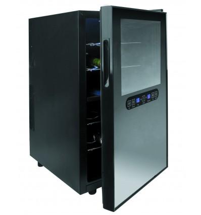 Armario refrigerador el?ctrico doble c?mara black line