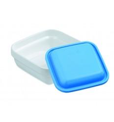 Bol cuadrado policarbonato con tapa de lacor