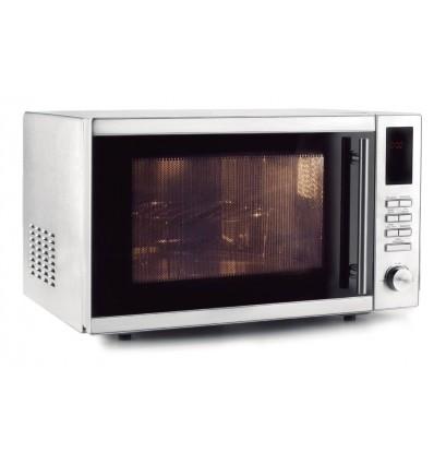 Horno microondas con plato y grill de lacor - Horno microondas pequeno ...