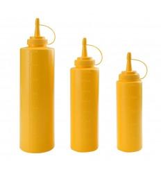 Botella biberón amarilla de Lacor