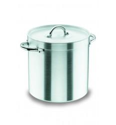 Olla recta con tapa chef-aluminio de Lacor