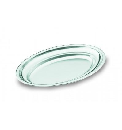 Fuente oval pulido satinado inoxidable 18/10 de lacor