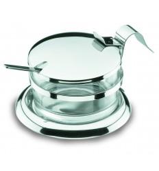 Recipiente cristal para quesera parmesana de lacor