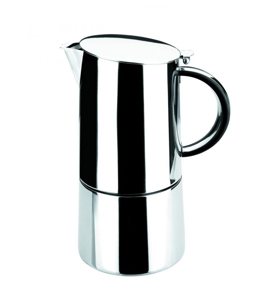 Cafetera express moka inoxidable de lacor - Cafetera moka ...
