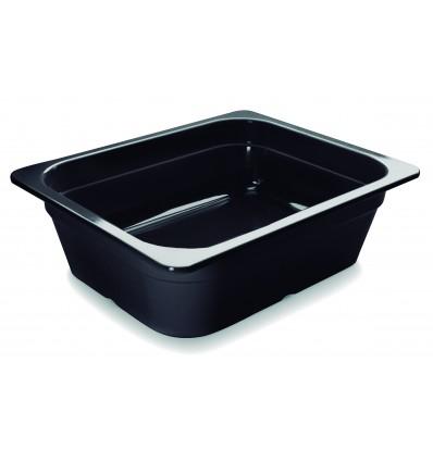 Cubeta negra melamina gastronorm 1/2 de Lacor