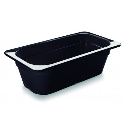 Cubeta negra melamina gastronorm 1/3 de Lacor