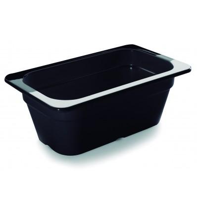 Cubeta negra melamina gastronorm 1/4 de Lacor
