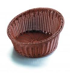Cesta de pan redonda maxi marrón de Lacor