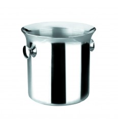 Cubo hielo-champan luxe asa inoxidable 22cm de lacor