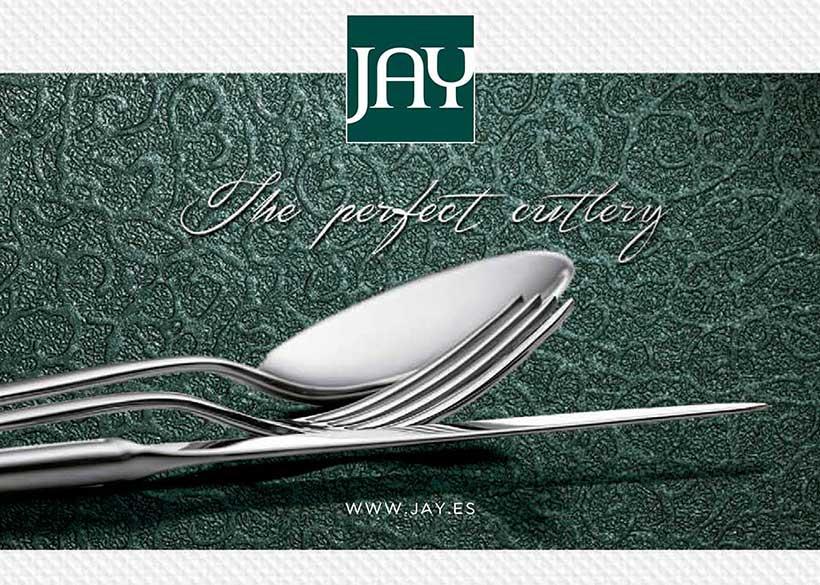 Catálogo cubiertos Jay
