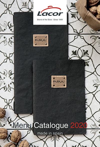 Catálogo portamenús Lacor 2020